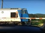 Train in Piatra Neamt, Romania