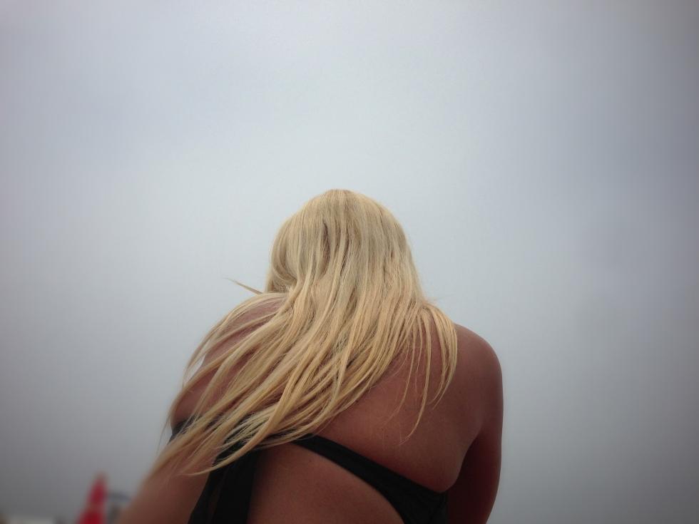 Andreea Bazgan at Laguna Beach