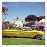 Classic Car at Laguna Beach