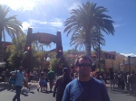 Felix at Universal Studios - Jurassic Park