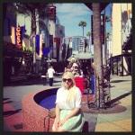 Andreea at Universal CityWalk