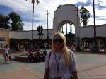 Andreea at Universal Studios
